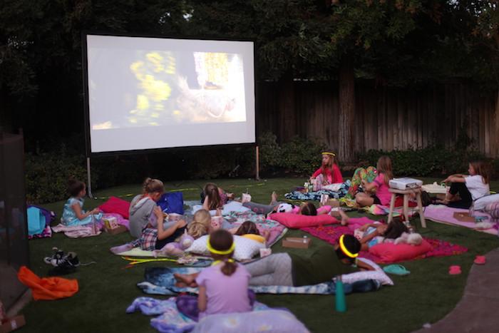 Night at the Movies Birthday Party via Kara's Party Ideas | KarasPartyIdeas.com (14)