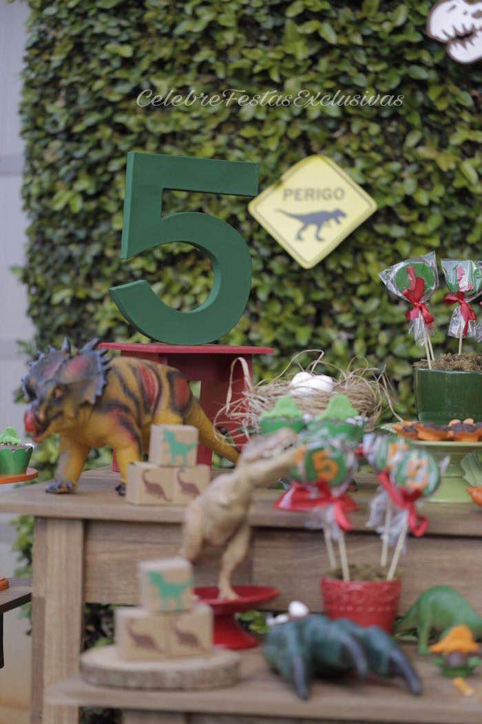 Jurassic Dinosaur Birthday Party on Kara's Party Ideas | KarasPartyIdeas.com (4)