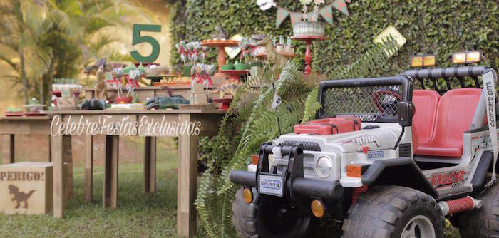 Jurassic Dinosaur Birthday Party on Kara's Party Ideas | KarasPartyIdeas.com (2)