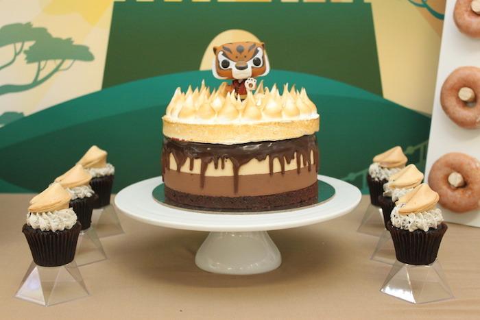 Fine Karas Party Ideas Kung Fu Panda Birthday Party Karas Party Ideas Funny Birthday Cards Online Elaedamsfinfo