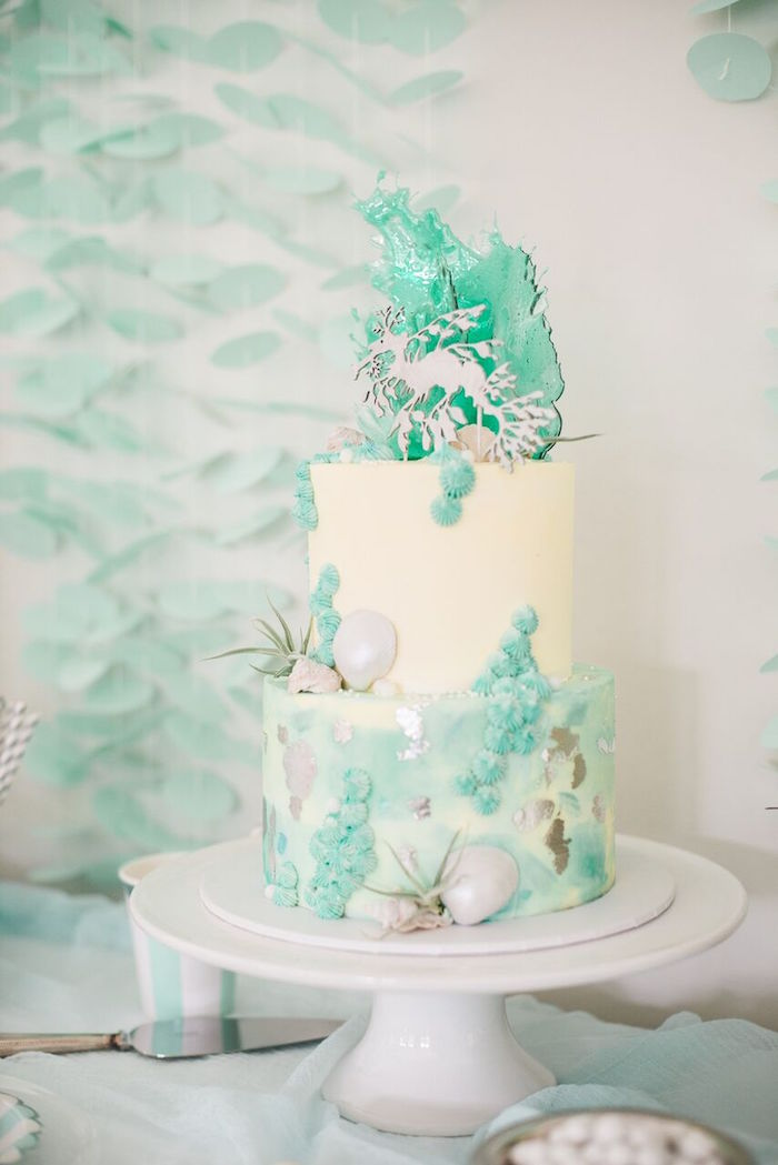 Majestic Under the Sea Birthday Party on Kara's Party Ideas | KarasPartyIdeas.com (62)