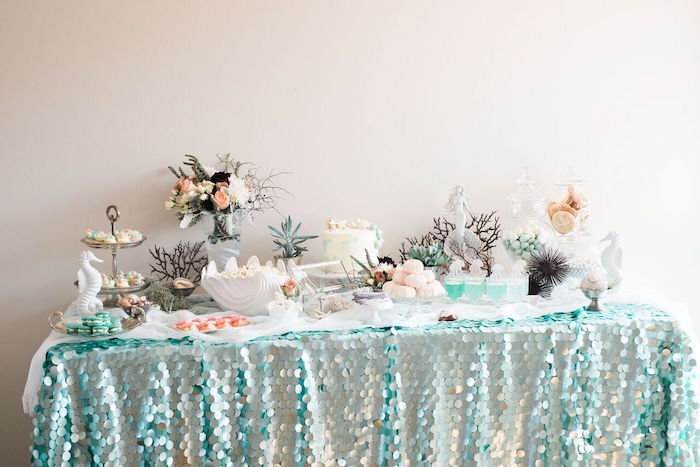 Majestic Under the Sea Birthday Party on Kara's Party Ideas | KarasPartyIdeas.com (43)