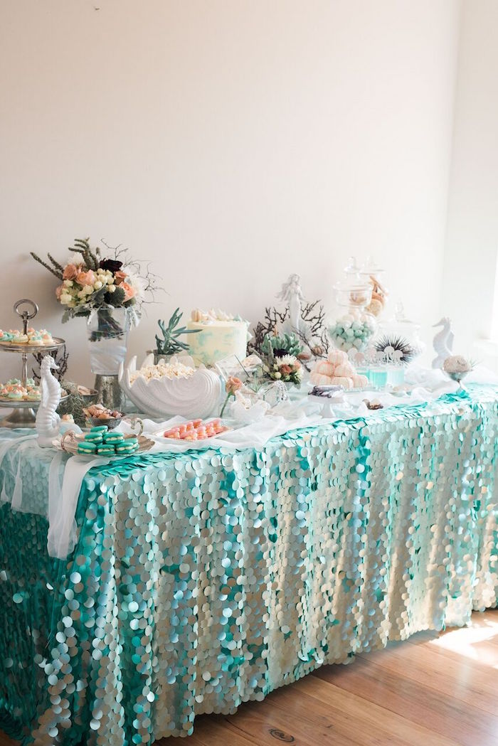 Karas Party Ideas Majestic Under the Sea Birthday Party Karas