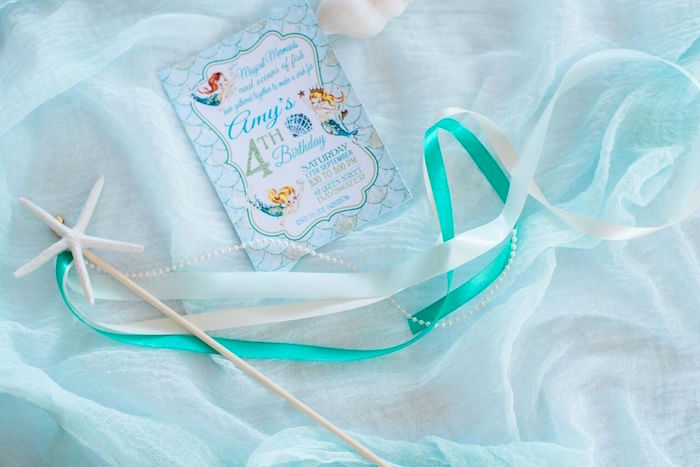 Invitation from a Majestic Under the Sea Birthday Party on Kara's Party Ideas | KarasPartyIdeas.com (12)