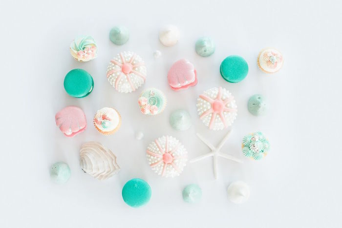 Gorgeous sweets from a Majestic Under the Sea Birthday Party on Kara's Party Ideas | KarasPartyIdeas.com (8)