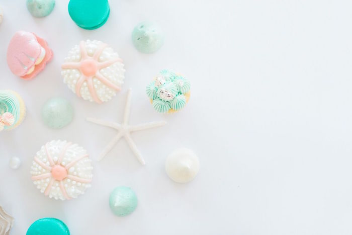 Gorgeous sweets from a Majestic Under the Sea Birthday Party on Kara's Party Ideas | KarasPartyIdeas.com (7)