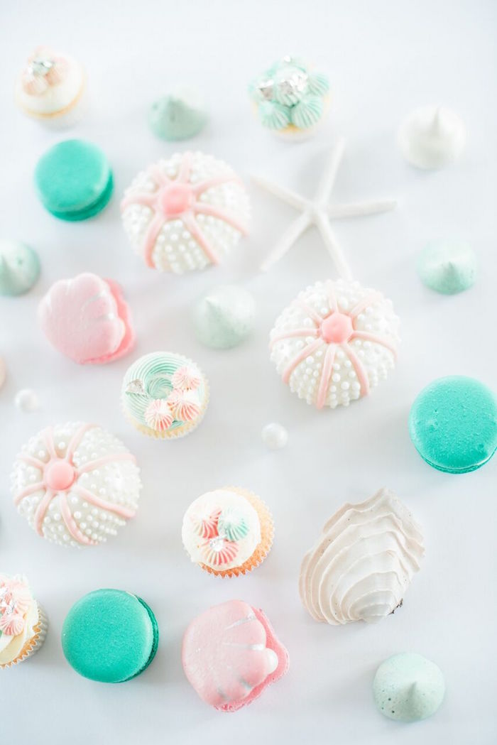 Gorgeous sweets from a Majestic Under the Sea Birthday Party on Kara's Party Ideas | KarasPartyIdeas.com (6)