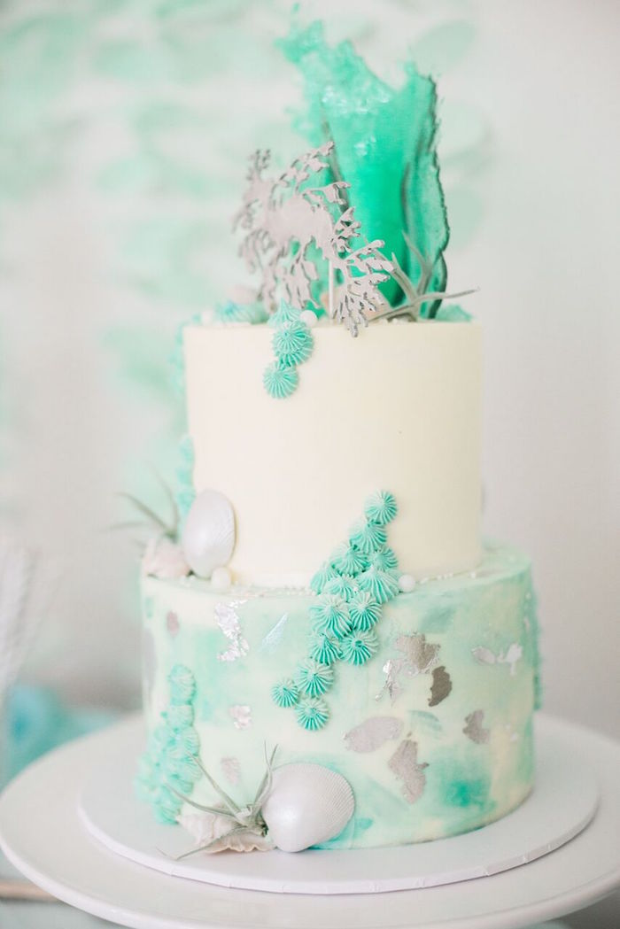 Wedding Cake Ideas For Beach Theme