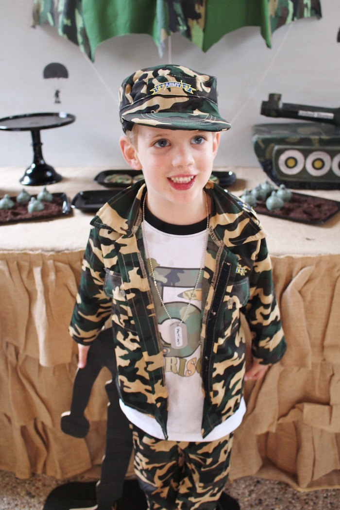 Military Toy Soldier Birthday Party on Kara's Party Ideas | KarasPartyIdeas.com (12)