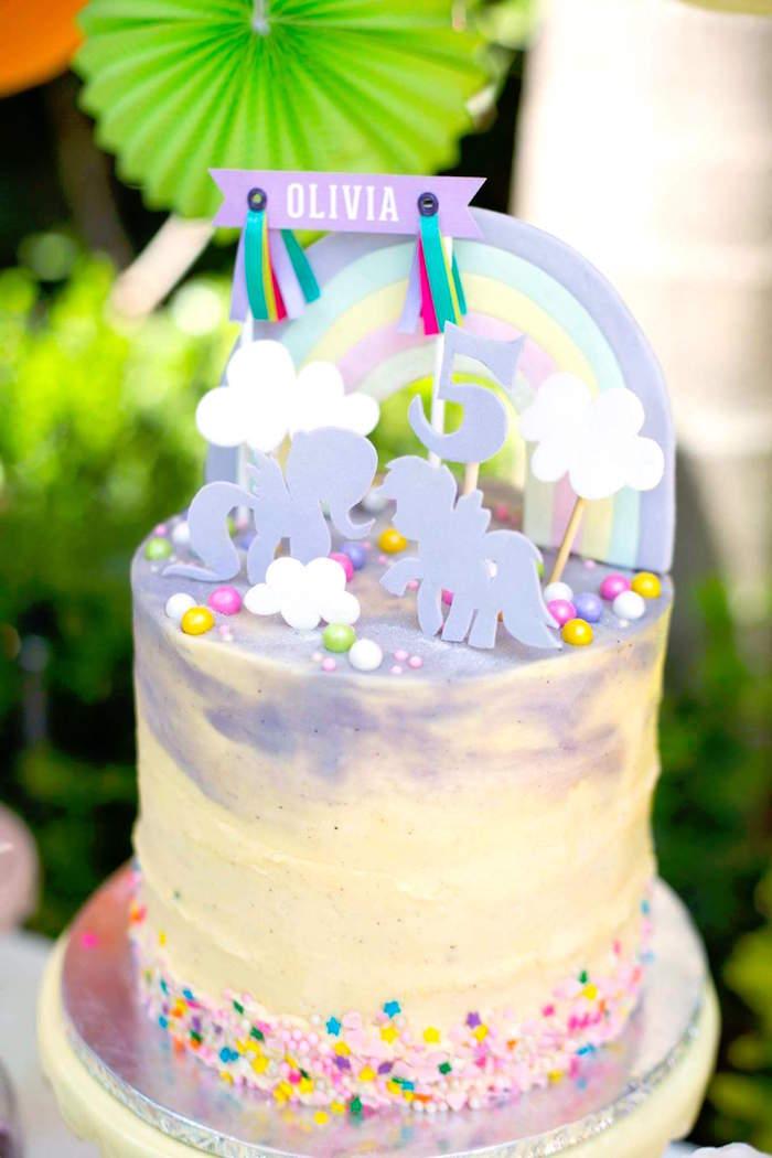 Kara's Party Ideas My Little Pony 5th Birthday Party ...