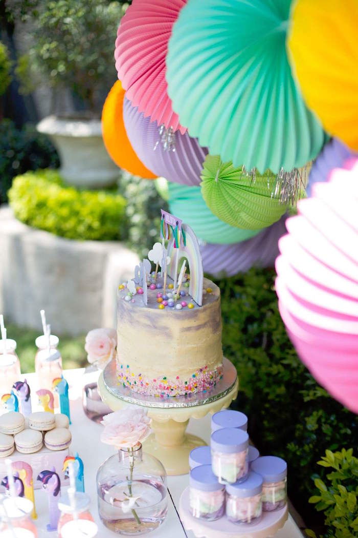 Kara\'s Party Ideas My Little Pony 5th Birthday Party | Kara\'s ...