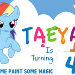 My Little Pony Rainbow Art Party on Kara's Party Ideas   KarasPartyIdeas.com (4)