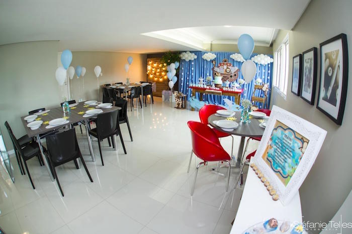Partyscape from a Noah's Ark Birthday Party on Kara's Party Ideas | KarasPartyIdeas.com (19)