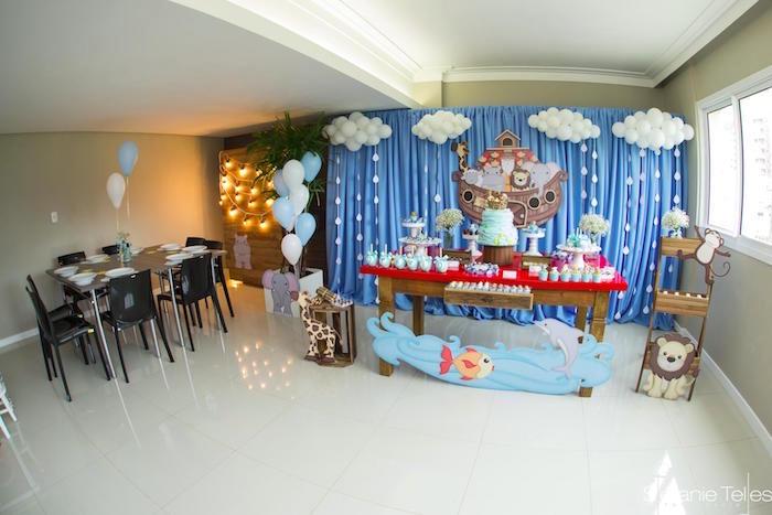 Noah's Ark Birthday Party on Kara's Party Ideas | KarasPartyIdeas.com (17)