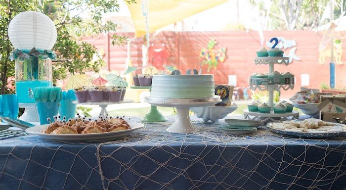 Ombre Under the Sea + Ocean Birthday Party on Kara's Party Ideas | KarasPartyIdeas.com (22)