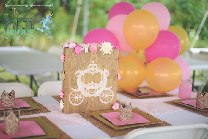 Guest tablescape from a Once Upon a Time Fairytale Birthday Party on Kara's Party Ideas | KarasPartyIdeas.com (15)