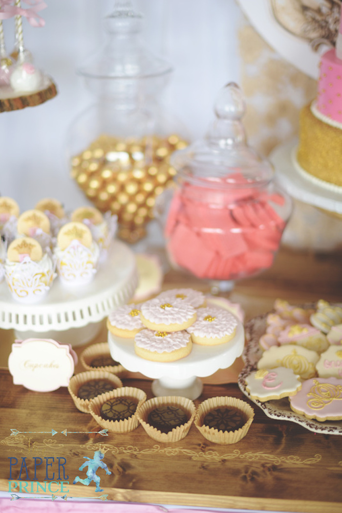 Sweets from a Once Upon a Time Fairytale Birthday Party on Kara's Party Ideas | KarasPartyIdeas.com (14)