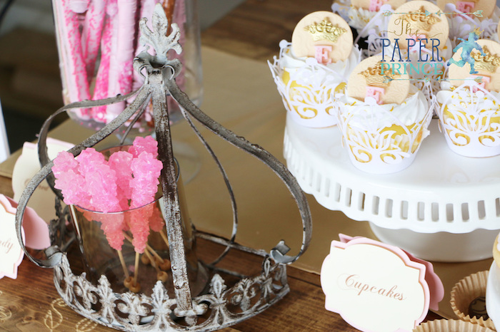 Rock Candy sticks and cupcakes from a Once Upon a Time Fairytale Birthday Party on Kara's Party Ideas | KarasPartyIdeas.com (9)