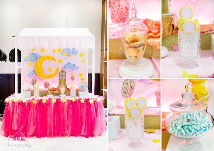 Dessert table from an Our Little Star Birthday Party on Kara's Party Ideas | KarasPartyIdeas.com (23)