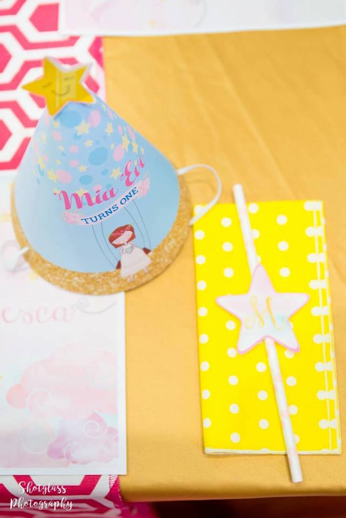 Place setting from an Our Little Star Birthday Party on Kara's Party Ideas | KarasPartyIdeas.com (42)