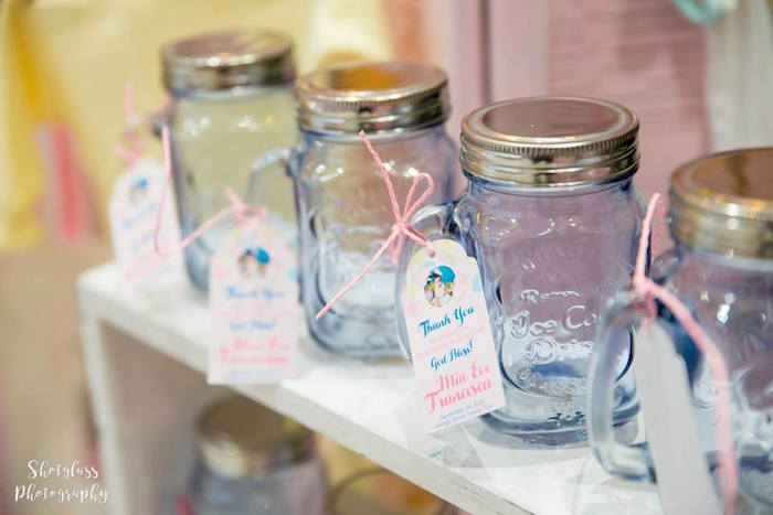 Mason jar favor bottles from an Our Little Star Birthday Party on Kara's Party Ideas | KarasPartyIdeas.com (41)