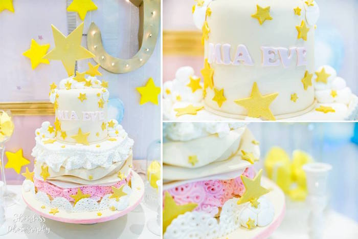 Star cake from an Our Little Star Birthday Party on Kara's Party Ideas | KarasPartyIdeas.com (36)