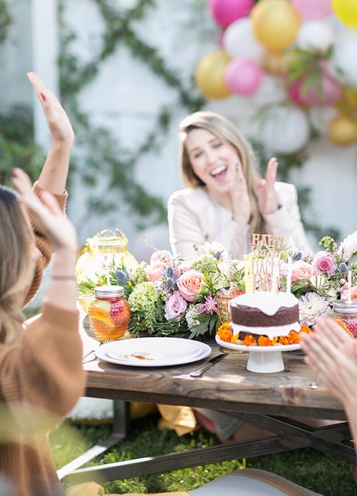 Outdoor Garden Gluten Free Birthday Party on Kara's Party Ideas | KarasPartyIdeas.com (7)