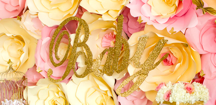 4f02c6222 Kara's Party Ideas Pink & Gold Butterfly Baby Shower | Kara's Party Ideas