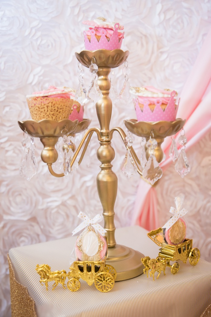 Cupcakes from a Royal Princess Birthday Party on Kara's Party Ideas | KarasPartyIdeas.com (21)