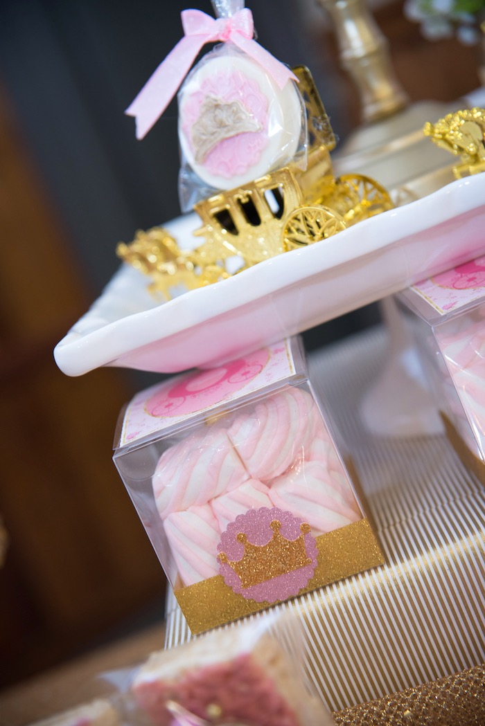 Marshmallow puffs from a Royal Princess Birthday Party on Kara's Party Ideas | KarasPartyIdeas.com (13)