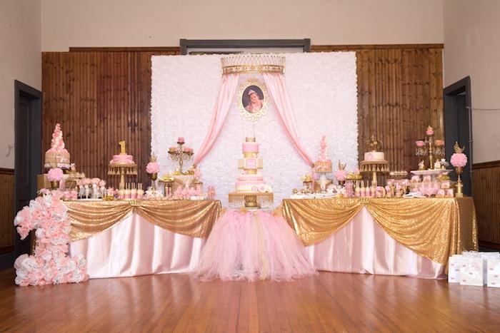 Royal Princess Birthday Party on Kara's Party Ideas | KarasPartyIdeas.com (9)