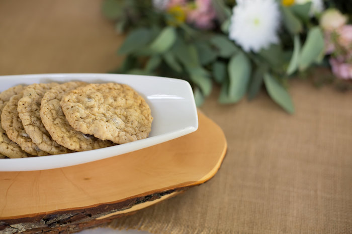 Cookies from a Rustic Floral Bridal Shower on Kara's Party Ideas | KarasPartyIdeas.com (10)