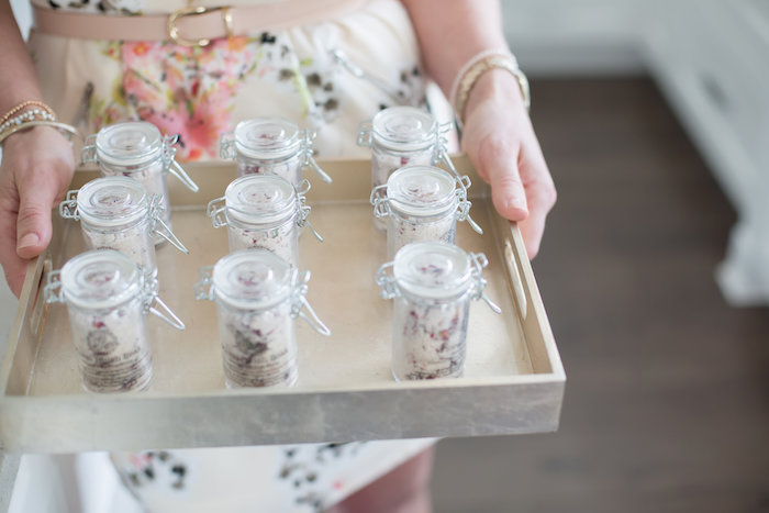 Favors from a Rustic Floral Bridal Shower on Kara's Party Ideas | KarasPartyIdeas.com (7)