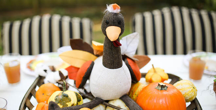 Rustic Thanksgiving Party for Kids on Kara's Party Ideas | KarasPartyIdeas.com (1)