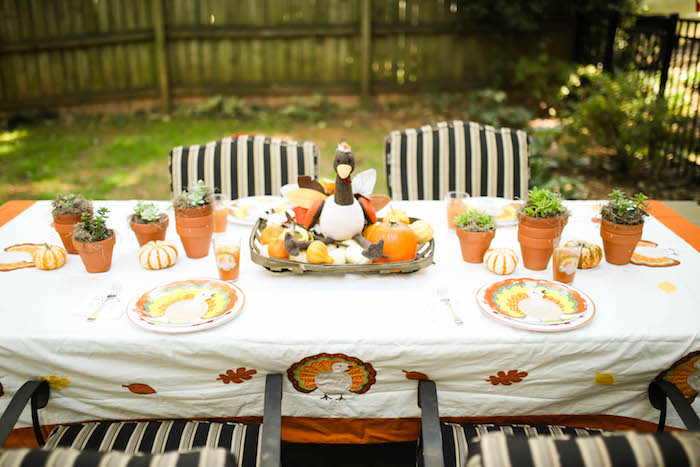 Rustic Thanksgiving Party for Kids on Kara's Party Ideas | KarasPartyIdeas.com (43)