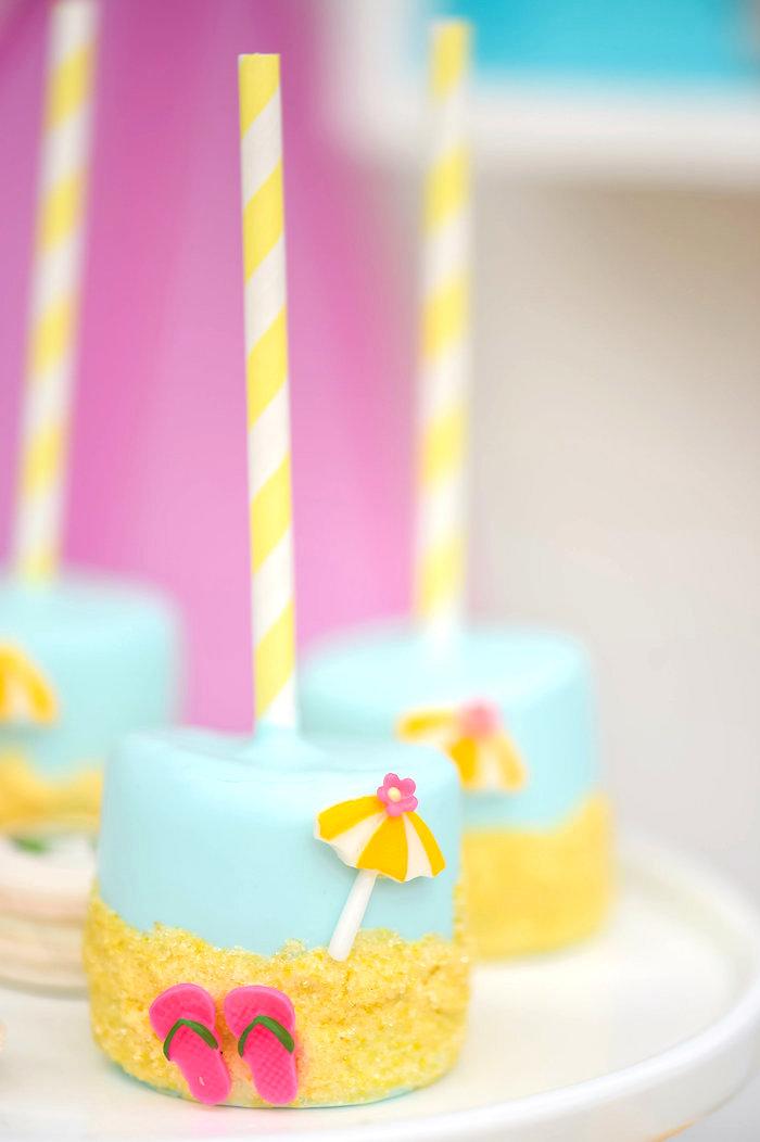 Karas Party Ideas Surfs Up Beach Birthday Party