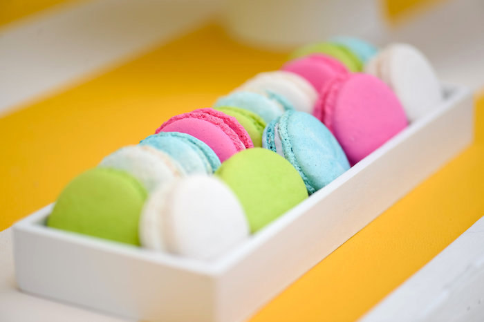 Macarons from a Surf's Up Beach Birthday Party on Kara's Party Ideas | KarasPartyIdeas.com (44)
