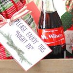Teacher appreciation Christmas Holiday gift idea! Night in with share a Coke by Kara's Party Ideas with FREE printables and a #shareacoke discount!