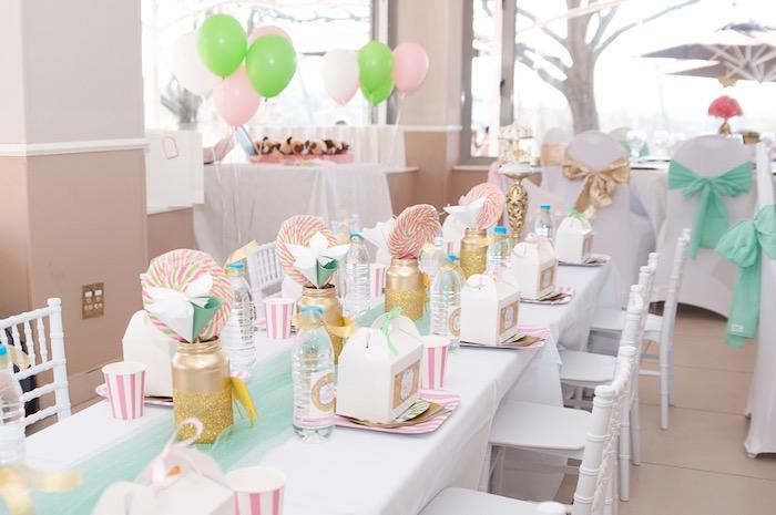Karas Party Ideas Vintage Carousel 1st Birthday Party