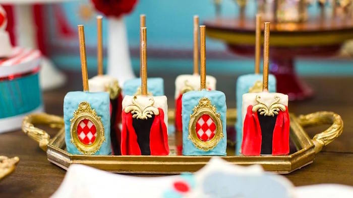 Circus-inspired Rice Krispie Treats from a Vintage Circus Birthday Party on Kara's Party Ideas | KarasPartyIdeas.com (37)
