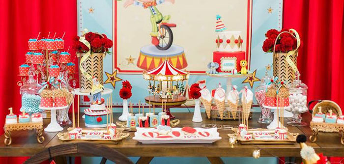 Kara S Party Ideas Vintage Circus Birthday Party Kara S