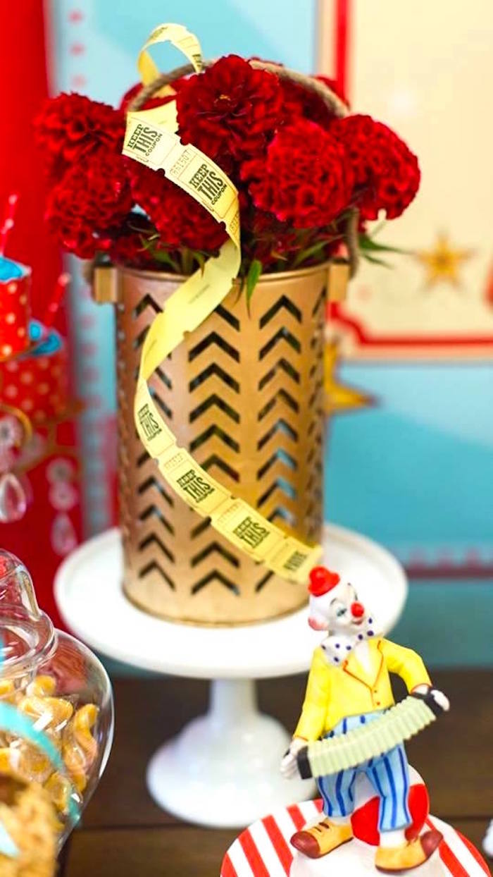Kara s party ideas vintage circus birthday