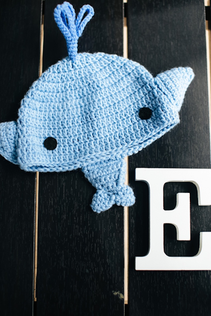 Whale decorations from a Whale Themed Baptism + Birthday Party on Kara's Party Ideas | KarasPartyIdeas.com (35)
