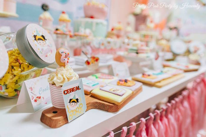 Whimsical Breakfast Themed Birthday Party