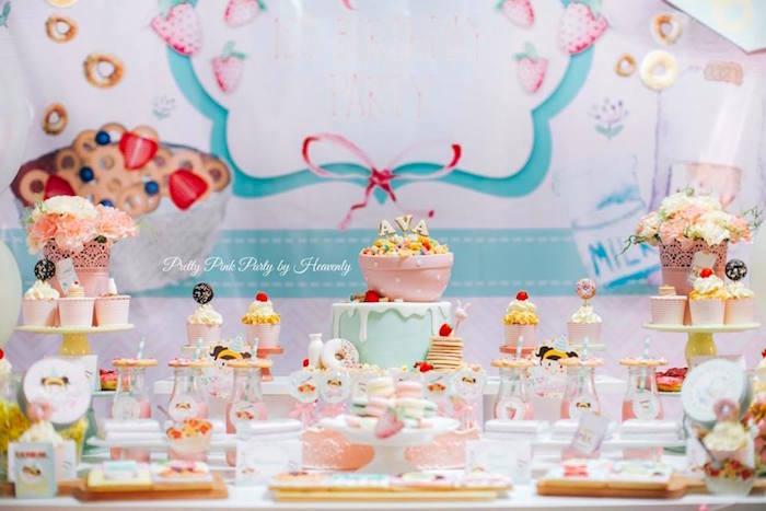 Whimsical Breakfast Themed Birthday Party on Kara's Party Ideas   KarasPartyIdeas.com (35)