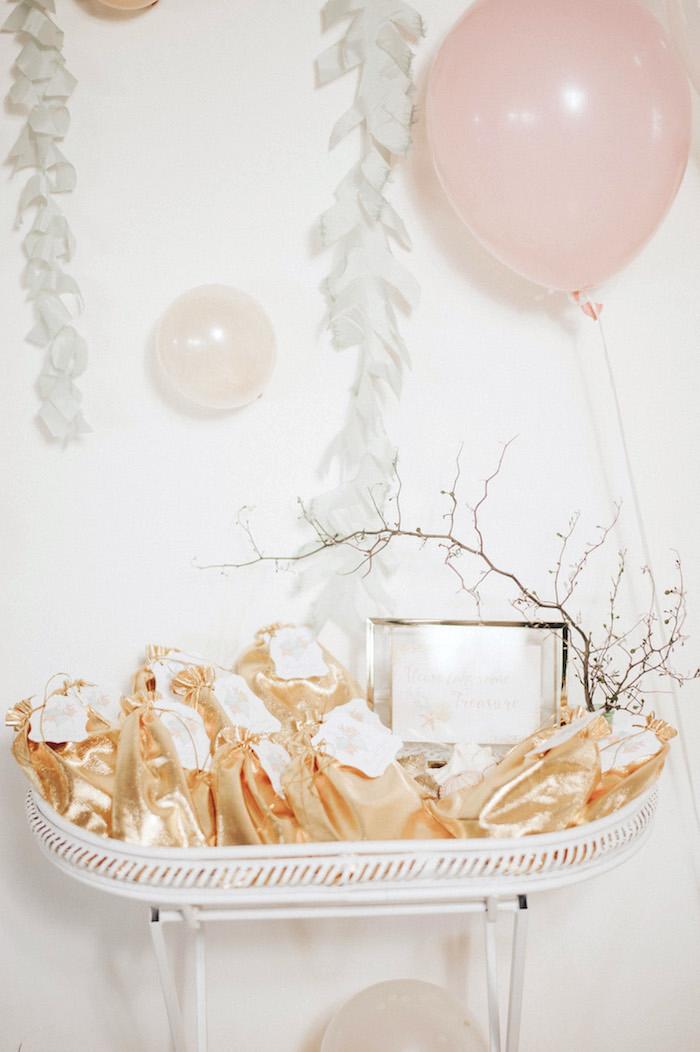 Favor bag tray from a Whimsical Mermaid Birthday Party on Kara's Party Ideas | KarasPartyIdeas.com (28)