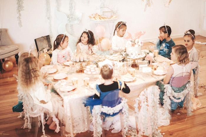 Whimsical Mermaid Birthday Party on Kara's Party Ideas | KarasPartyIdeas.com (9)