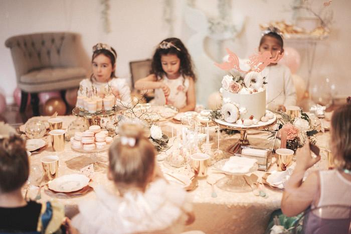 Whimsical Mermaid Birthday Party on Kara's Party Ideas | KarasPartyIdeas.com (8)