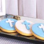 White & Blue Christening Celebration on Kara's Party Ideas | KarasPartyIdeas.com (3)