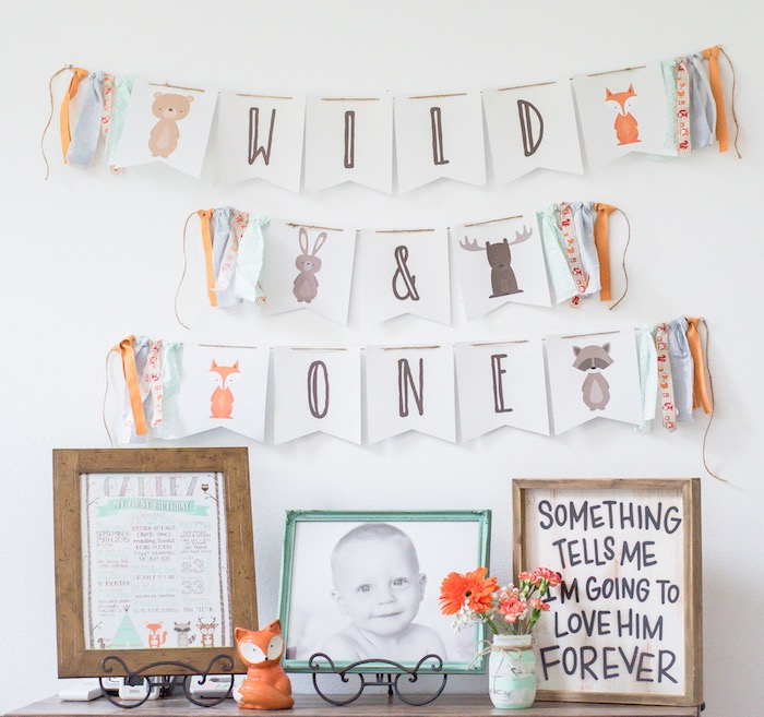 Wild One party table from a Wild & One First Birthday Party on Kara's Party Ideas | KarasPartyIdeas.com (12)